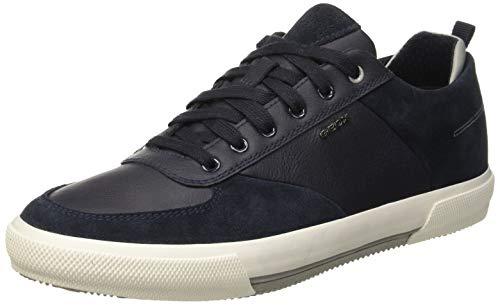 774c6fc8 Geox Men U Kaven A Low-Top Sneakers, Blue (Navy C4002),