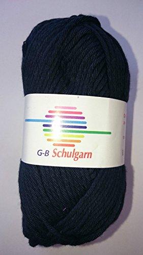 GB Wolle Schulgarn, 100% Baumwolle, Farbe:1020 marine, gebraucht gebraucht kaufen  Wird an jeden Ort in Deutschland
