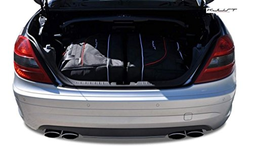 Preisvergleich Produktbild DEDIZIERTE REISETASCHEN Mercedes SLK R171 2004-2011 2STK KJUST KOFFERRAUMTASCHEN
