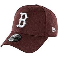 New Era 9forty Boston Red Sox Herren Kappe Dunkel Rot