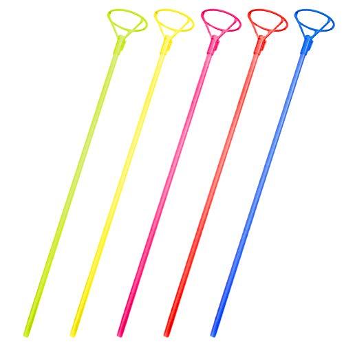 Halter Ballon Stangen Luftballons Halter Sticks Party Dekoration Zubehör 40cm 10 Stück (Zufällige Farbe) ()