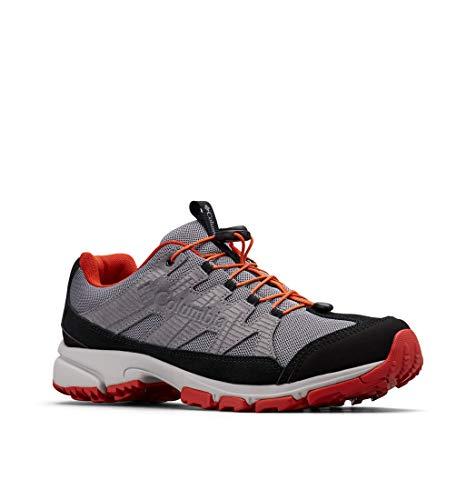 Columbia Five Forks, Zapatos de Senderismo Impermeables para Hombre, Gris Ti Grey Steel, 033, 42 EU...