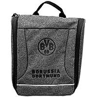 Borussia Dortmund Kulturbeutel grau
