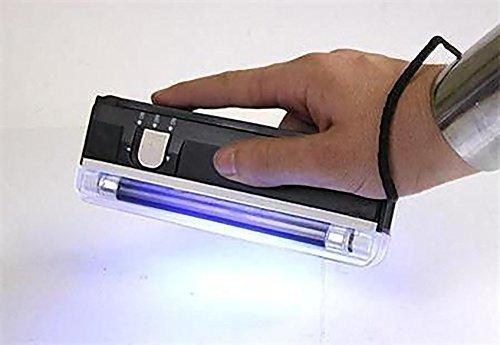 Taschenlampe mit LED-Licht, Schwarz (Langwellige Uv-lampe)
