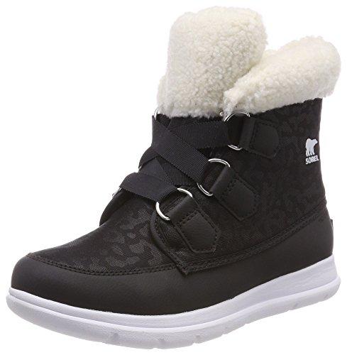 Sorel Cozy Explorer, Zapatillas para Mujer, Negro (Black), 41.5 EU