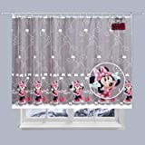 Disney Voile/Gardine, Minnie Maus–150Breite cm x Drop 155cm