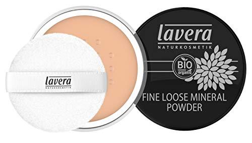 Lavera Fine Loose Mineral Powder -Honey 03- Polvo