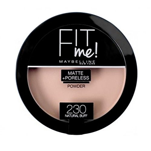 Gemey Maybeline Poudre Compact - Fit me - Matte + Poreless - 230 Natural buff
