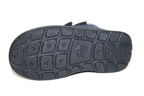 Jela 11058 33 Kinder Jungen Mädchen Schuhe Stiefeletten Blau (atlantik-schwarz)