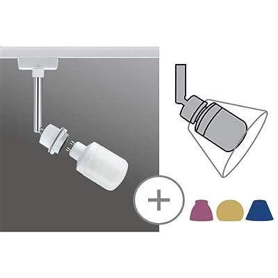 Strahler 1-flammig Basic Leuchtmittel: 1 x Energiesparlampe / GZ10/GU10 / 9W / 230V, Farbe: Weiß von Paulmann - Lampenhans.de