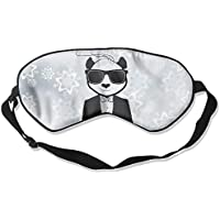 A Panda With Glasses 99% Eyeshade Blinders Sleeping Eye Patch Eye Mask Blindfold For Travel Insomnia Meditation preisvergleich bei billige-tabletten.eu