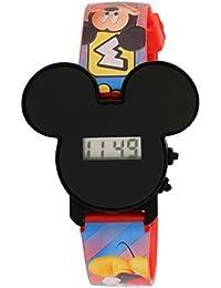 Disney Digital Black Dial Children's Watch - DW100296