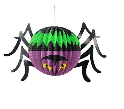 pe Lampions Dekoration Party (Halloween Spinne Dekorationen)