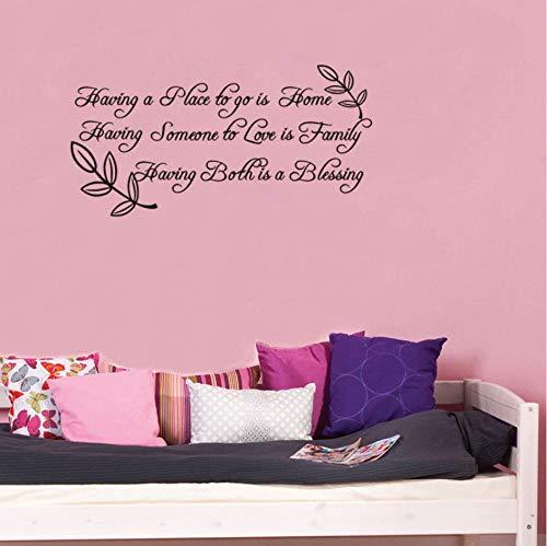 haben einen ort zu gehen ist home vinyl wandtattoo zitate wohnkultur wohnzimmer schlafzimmer diy kunst tapete abnehmbare wandaufkleber 76x38 cm