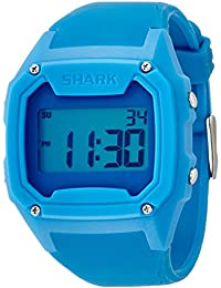 Freestyle - 101053 - Shark Classic - Montre Homme - Quartz Digital - Cadran Bleu - Bracelet Silicone Bleu