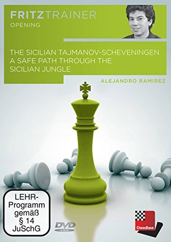 The Sicilian Tajmanov-Scheveningen - A safe path through the Sicilian jungle: Fritztrainer: Interaktives Video-Schachtraining