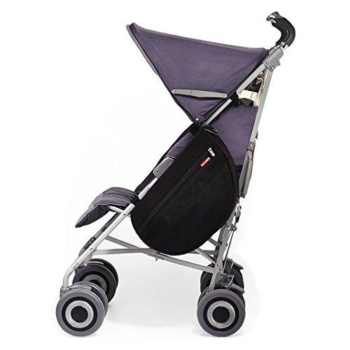Skip Hop Grab and Go Stroller Saddlebag (Black)