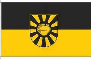 Königsbanner Autoflagge Eilvese - 30 x 45cm - Flagge und Fahne