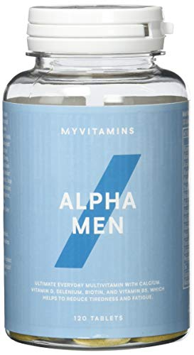 Myprotein Alpha Men Super Multi Vitamin  120 Tabletten, 1er Pack (1 x 150 g) -