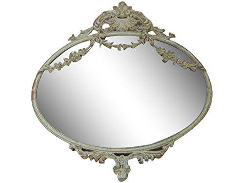 Espejo Pared Antiguo Beige Chic Antique Decoración