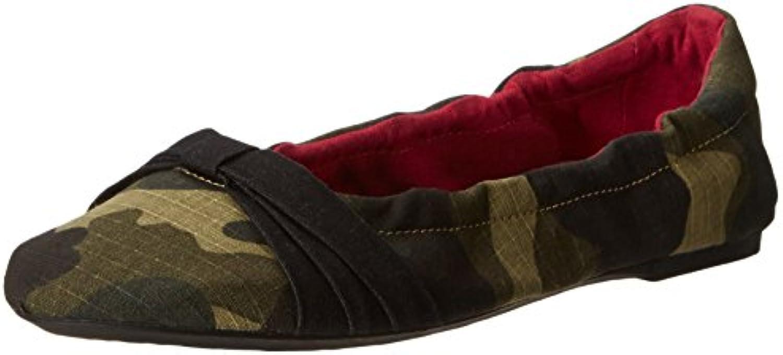Keen Cortona Bow CVS Mujer US 5.5 Verde Zapatos Planos