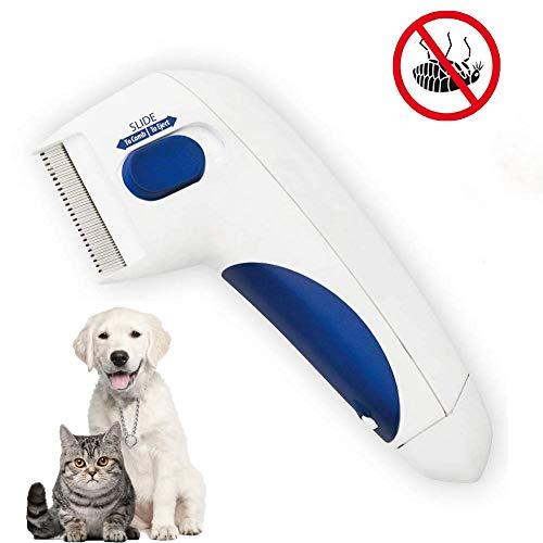 Xinfang Flohkamm, elektrischer Kamm, Läusekamm zum Entfernen von Läusen und Haustieren