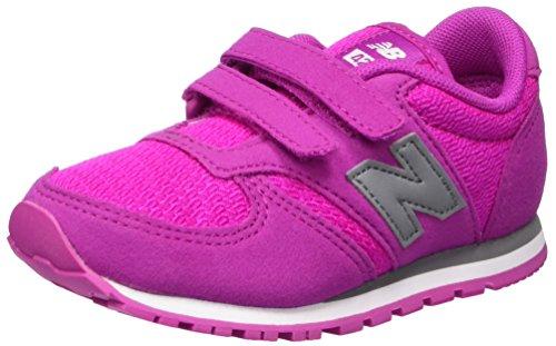 Rosa 24 EU New Balance 420v1 Sneaker Unisex Bimbi Pink/Grey Scarpe rij