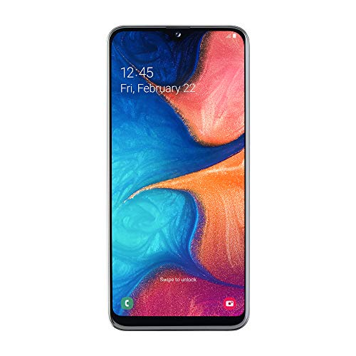 Samsung Galaxy A20e (2019) Smartphone, White, Display 5.8' HD+, 32 GB Espandibili, Dual Sim...