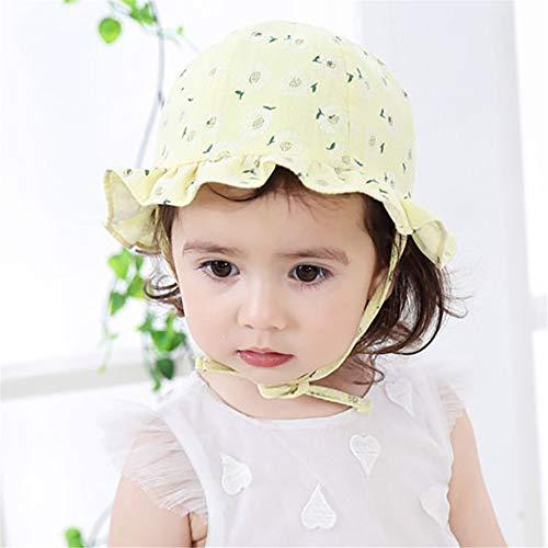 zhuzhuwen Herbst Neue Baby kleine gebrochene Blumentopf Kappe krawattenfeste Kind Hut Koreanische Version der Karikatur im Freien Sonnenhut 4 45-48cm (Kelten Kostüm Für Jungen)