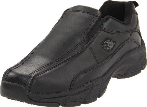 Dickies Men's Athletic Slip-On Work Shoe,Black,9.5 M US -