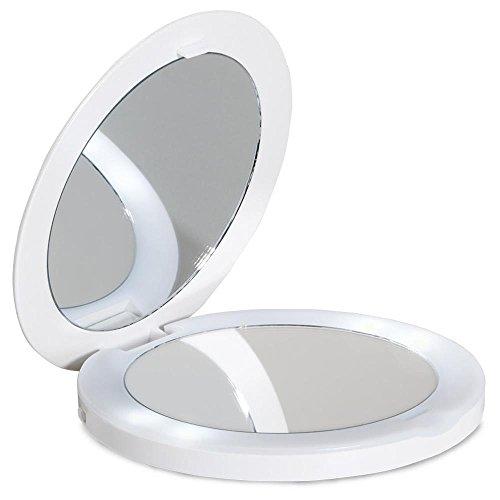« Oh Mirror », miroir de poche grossissant et lumineux