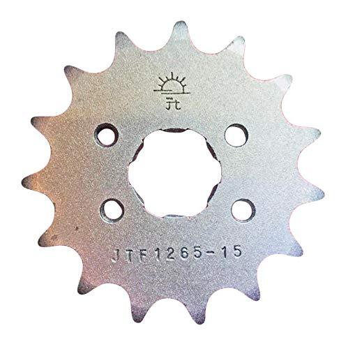 CRF70 F 04 05 06 07 08 09 10 11 12 Pignon avant 15 Dents 420 Points JTF1256.15