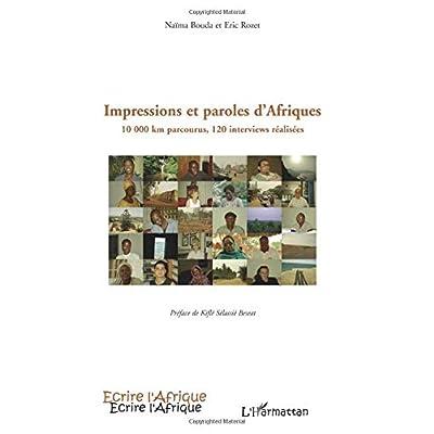 Impressions et paroles d'Afriques: 10 000 km parcourus, 120 interviews réalisées