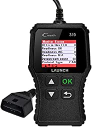 Launch CR319 Code Reader Automotive Engine Light Check OBD2 Scanner,CAN Diagnostic Scan Tool with Full OBD II