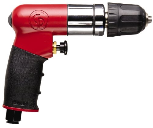 Chicago Pneumatic CP7300RQC 1/4-Inch Reversible Mini Air Drill with Keyless Chuck by Chicago Pneumatic