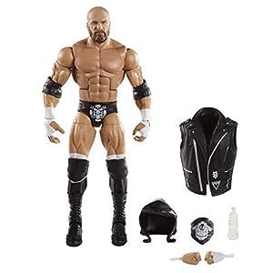 WWE- Figura de Acción Luchador Elite Triple H (Mattel GKP33)