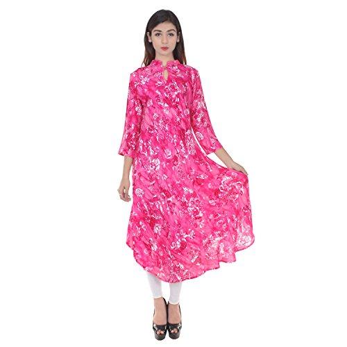 Chichi Indian Women Kurta Kurti 3//4-Sleeve Top