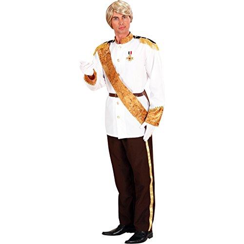 WIDMANN 73862 COSTUME PRINCIPE AZZURRO M GIACCA, PANTAL,CINT,FAS - LIBROLANDIA taglia M (Prince Charming Kostüme Männer)