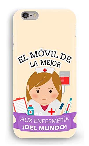 Funda Carcasa Auxiliar de enfermeria para Samsung Galaxy S7 plástico rígido