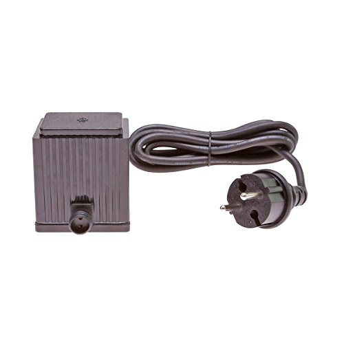 Steckernetzteil 24V AC Trafo 1500mA 36VA 36 Watt W IP44 Transformator 24 Volt Netzteil für LED Baum Lichterkette