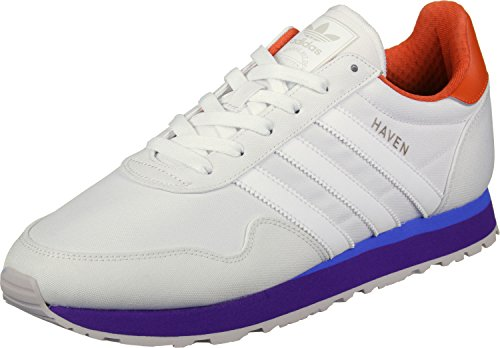 adidas Haven, Chaussons DIntérieur Homme Multicolore - orange (Ftwbla / Ftwbla / Narfue)