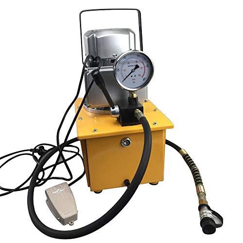 10000PSI 7L Hydraulikaggregat, Hydraulik Pumpe 750W Hydraulic Pump 70MPA Elektrohydraulikpumpe