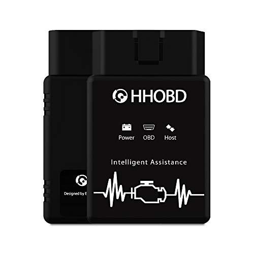 EXZA HHOBD (2. Gen.) Intelligenter OBD2 Diagnosegerät mit Bluetooth, geeignet für OBD & CAN Fahrzeuge