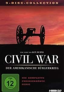 Civil War - Der Amerikanische Bürgerkrieg [5 DVDs]