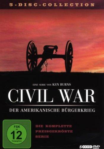 Civil War – Der Amerikanische Bürgerkrieg [5 DVDs]