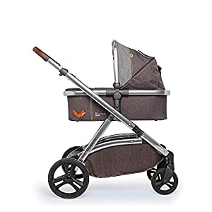 Cosatto Wow XL 3-in-1 Pram and Pushchair, Suitable from Birth - 25 kg, with Tandem Mode and Buggy Board- Mister Fox   5