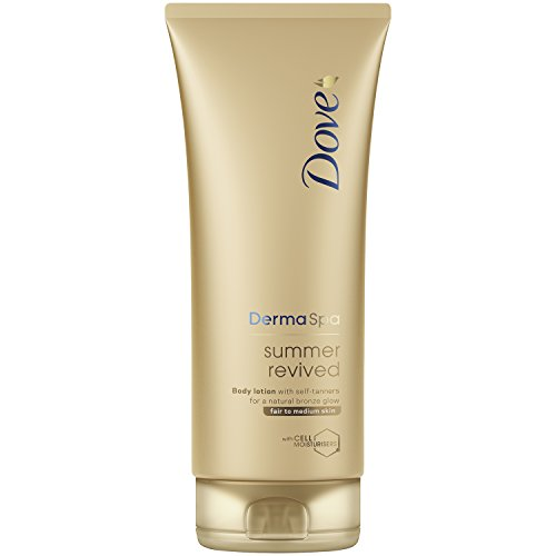 Dove Derma Spa Summer Revived Fair to Medium Skin Body Lotion 200 ml by Dove (Gesicht Spa-lotion)