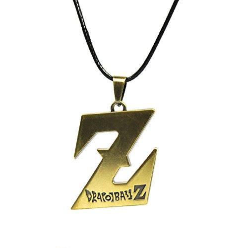 CoolChange collar de Dragonball Z con colgante en forma de Z