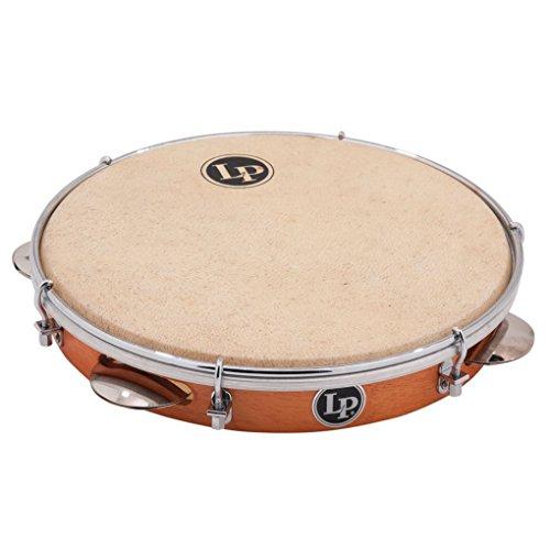 Latin Percussion LP820060 10-Inch Brazilian Pandeiro Tambourine