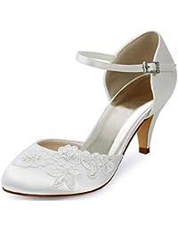 Minitoo MinitooUK-MZ8237 - Zapatos de Vestir Para Mujer